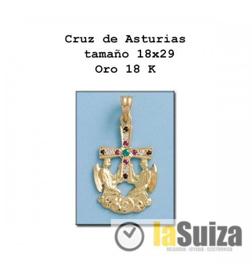 Cruz de los Angeles Asturias 18x29