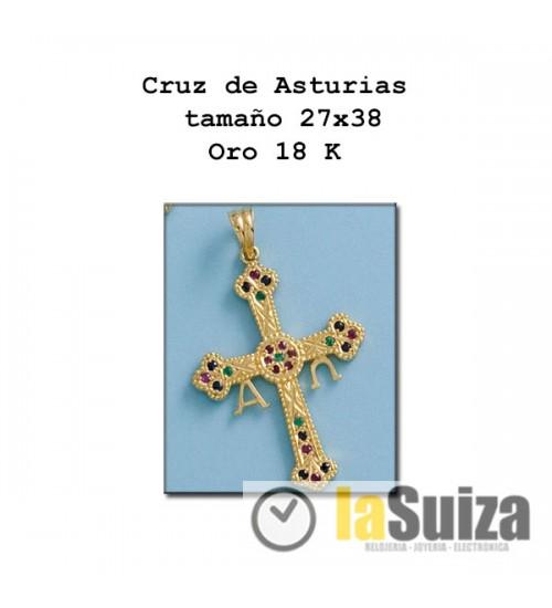 Cruz de Asturias mediana 27x38
