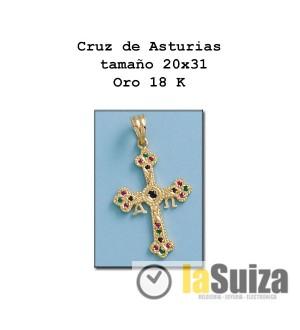 Cruz de Asturias pequeña 20x31