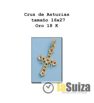 Cruz de Asturias pequeña 16x27