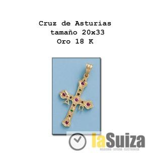 Cruz de Asturias mediana 20x33