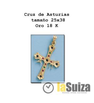 Cruz de Asturias grande 25x38